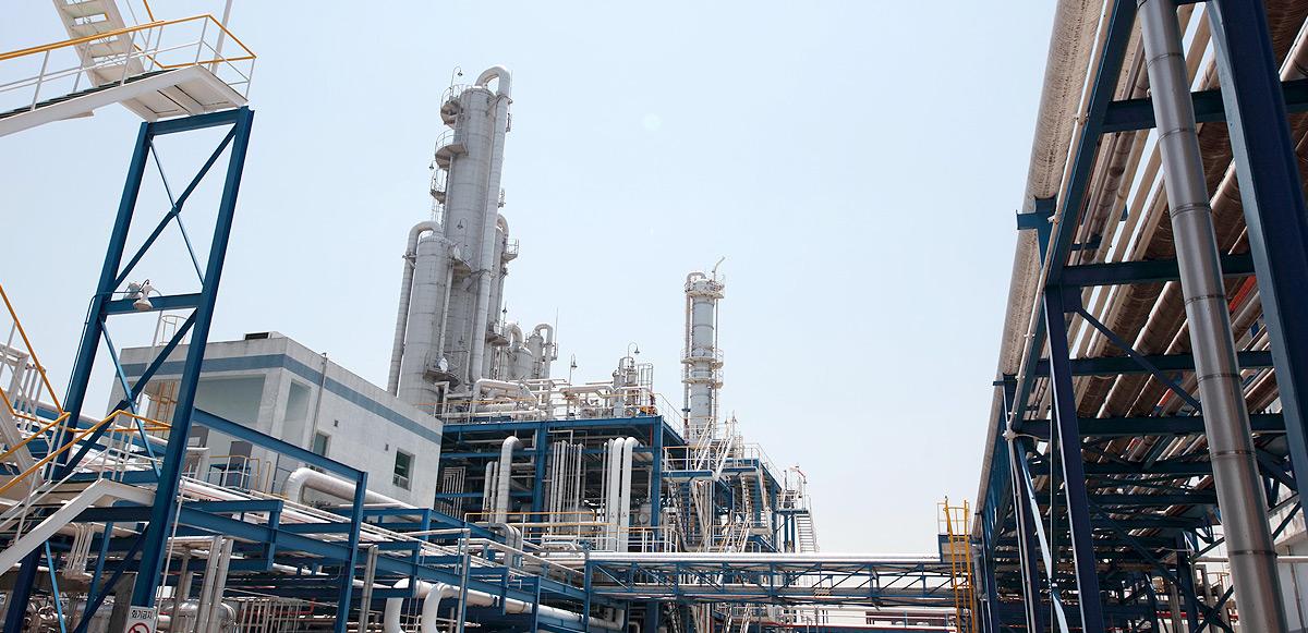 한국알콜산업 공장